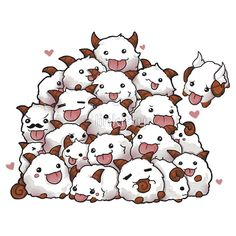 Poro bunch! League of legends