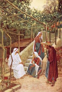 Jesus Resting At Bethany At The House Of His Friends - (William Brassey Hole)
