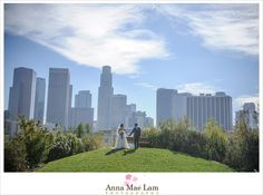 Vista Hermosa Park & Downtown Los Angeles Wedding | Anna Mae Lam Photography - Los Angeles Wedding Photographer