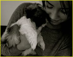 Demi Lovato and her dog photos
