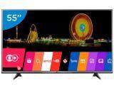 """Smart TV LED 55"""" LG 4K Ultra HD 55UH6150 - Conversor Digital 3 HDMI 1 USB Wi-Fi"""