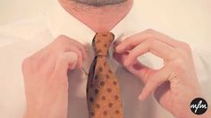 How To Tie A Tie - 3 Easy But Stylish Tie Knots