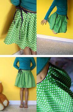 Skirt tute