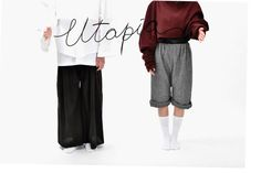 Utopia - Giulia Tano - unisex collection  No sex No difference No size Made in Italy Natural fabric