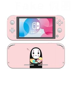 Spirited Away No Face Nintendo Switch Lite Skin, Nintendo Switch Lite Decal, Decal Wrap, Nintendo Switch Accessories, Cute Switch Skin