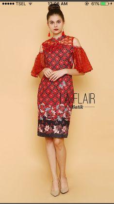 Blouse Batik, Batik Dress, Lace Dress, Batik Fashion, Boho Fashion, Fashion Dresses, Womens Fashion, Simple Dresses, Nice Dresses
