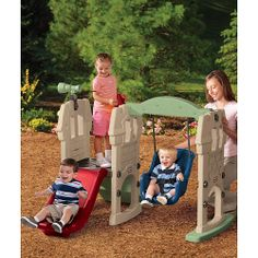 "@Greta Crowley / Little Tikes Endless Adventures Swing Along Castle Climber - Little Tikes - Toys ""R"" Us"