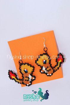 Charmander Bulbasaur Pikachu Squirtle Pokemon por NyshaShop en Etsy