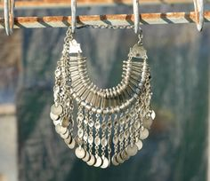 #Stunning #vintage #silver #Turkish #necklace by DesigningArts on Etsy, $350.00 Coin Necklace, Vintage Silver, Design Art, Urban Outfitters, Bohemian, Bronze, Trending Outfits, Unique Jewelry, Spotlight