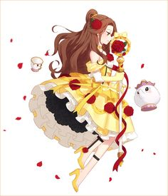 Belle (Beauty and the Beast) - Beauty and the Beast (Disney) - Image - Zerochan Anime Image Board Disney Belle, Anime Disney Princess, Anime Princesse Disney, Disney Mode, Disney Princess Drawings, Cute Disney, Disney Drawings, Drawing Disney, Disney Princesses