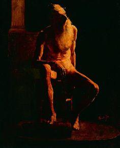 Almeida Junior,Estudo de nu masculino, 1873
