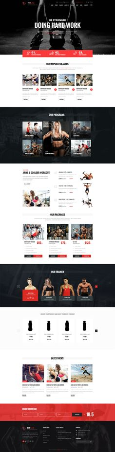 FITLAB is a PSD template for heallth, sports, gym and fitness websites. It is a highly suitable template for fitness companies as well as gyms or sport clubs. Here you will get 17 layered PSD wi...