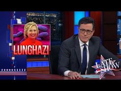 As The Lunghazi Scandal Rages, A Healthy Cartoon Hillary Speaks Out | Secretary Clinton must be be fine. Would she be using recreational drugs if she wasn't feeling well?