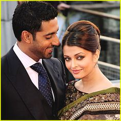 Indian actress Aishwarya Rai and her husband, Abhishek Bachchan, are expecting their first child together!