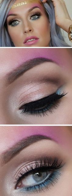 Bohemian Rhapsody   17 Summer Festival Makeup Ideas for Teens and the Coachella bound!