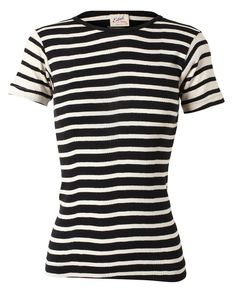 Browns   EDITH A MILLER   Striped Cotton Top