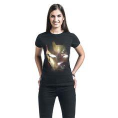 """Maglietta donna a maniche lunghe """"Captain America Civil War - Reflection"""" di #IronMan."""
