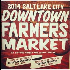 This Saturday, the Downtown Farmers Market starts up! Don't miss it.   Running each Saturday from 8am to 2pm (June 14 – October) and Tuesday evenings from 4pm to dusk (August – October) in Pioneer Park, the Market offers opportunities for local growers, food and craft artisans to display and sell their items to the public. The Farmers Market features more than 250 vendors, including farmers, growers, bakeries, prepared foods and beverages and local artists.