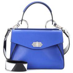 Proenza Schouler Small Hava Shoulder Bag ($1,800) ❤ liked on Polyvore featuring bags, handbags, shoulder bags, blue, shoulder bag purse, blue handbags, proenza schouler handbags, proenza schouler purse and blue shoulder bag