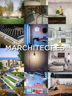 We have put together in this promo mosaic some of our latest works made in Marchitect.es | 3D Visualization for Professionals.
