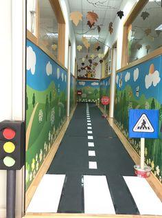 Le Baby Bakery: Road Signs - For Daniels Party Sunday School Classroom, Pre School, Games For Kids, Art For Kids, Crafts For Kids, Gross Motor Activities, Toddler Activities, Preschool Assessment, Kindergarten Design