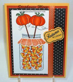 Candy Corn Jar - Scrapbook.com