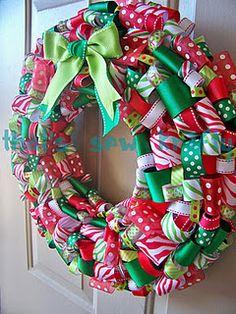 Cute Ribbon Wreath Tutorial