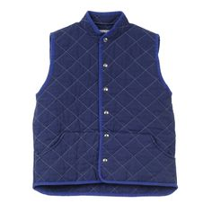 quilted snap vest  (more colors)