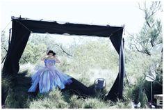 Carey Mulligan by Peter Lindbergh for Vogue US October 2010