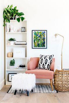 Trendy Home Interior Decorating Curtains Living Room Designs, Living Room Decor, Bedroom Decor, Living Area, Bedroom Wall, Decor Room, Cozy Living, Bedroom Lighting, Book Shelf Bedroom