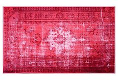 Bess Rug in Strawberry High Impact | One Kings Lane