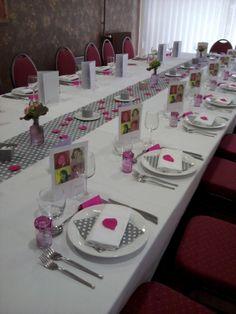 idée décoration de table pour communion fille - 2