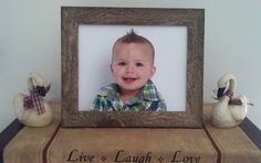 Check out this item in my Etsy shop https://www.etsy.com/listing/462352565/barn-wood-style-picture-frame-rustic