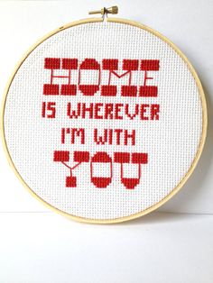 Edward Sharpe Embroidered Quote >> I do Love this song!