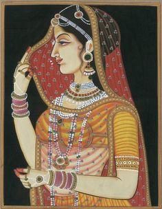 join us through the heavens gate Mughal Miniature Paintings, Mughal Paintings, Indian Art Paintings, Rajasthani Painting, Rajasthani Art, Kalamkari Painting, Madhubani Painting, Indian Artwork, Indian Folk Art