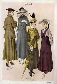 Le Costume Royal 1915 1910s Usa Cc Drawing The Advertising Archives