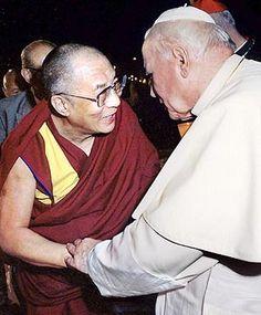 Dalai Lama & Pope John Paul