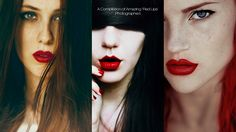 A Compilation of Amazing 'Red Lips' Photographed