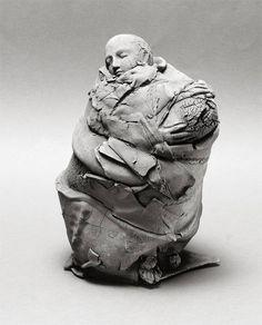 Artist: Georges Jeanclos, Title: Urne avec Figure, 1983 - click to close window