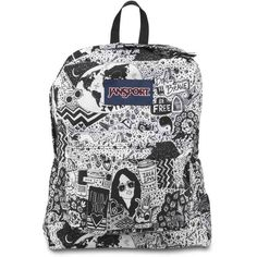 JanSport SuperBreak School bag ❤ liked on Polyvore featuring bags, jansport backpack, jansport, day pack backpack, knapsack bag and jansport daypack
