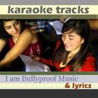 """Karaoke tracks w/background vocals/ lyrics to our empowerment tunes """"Got Your Back"""" and """"Einstein."""" Perfect for a school talent show :-) Themes; loyalty, make a difference."""