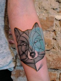 forearm-tattoo-11 Wolf Tattoo Design, Tattoo Designs, Forearm Tattoo Design, Wolf Tattoos, Animal Tattoos, Men Tattoos, Tatoos, Tatuajes Tattoos, Kunst Tattoos