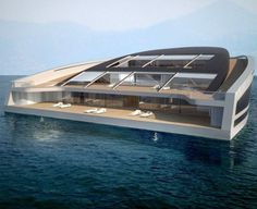 I wouldn't mind being stranded at sea if it were in this house...