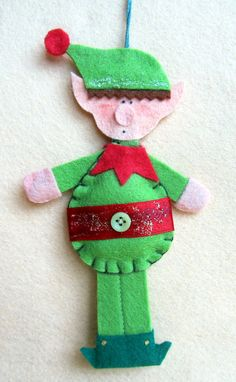 """felt elf - """"product no longer available""""  but I could make that."""