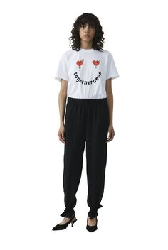 Harway T-shirt, Togetherness, Bright White