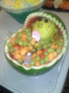 Bowl Cake Fruit Sec