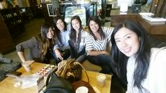 Coffee at The Lost Bean .. in Tustin with my sisters and nieces .. girls night is always FAMtabulous!!! #lovemyfamily ♡ XD ♡