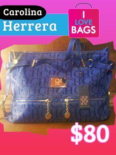 $80 Monogram handbag   Monograma bolsa de mano