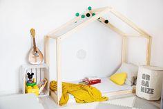 Letti per bambini - CHILDREN WOODEN BED TALO D8 100X200 - un prodotto unico di PLUSDOM su DaWanda
