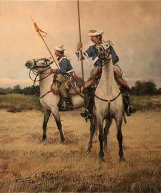 Lanceros de Tortosa 1ªGC. Ferrer Dalmau. Más en www.elgrancapitan.org/foro